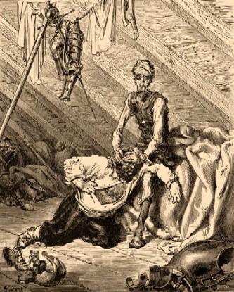 GUSTAVE DORE-Quixote(Parte I, capítulo XVII).jpg